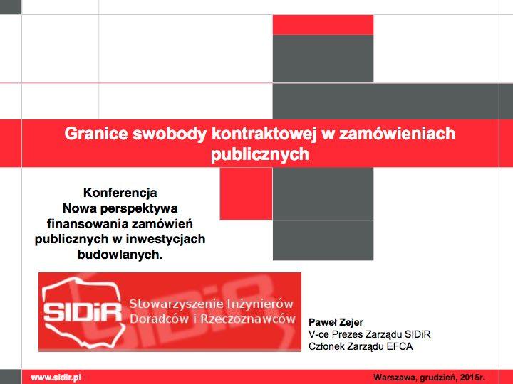 11_Granice swobody kontraktowej wzamówieniach publicznych_Paweł Zejer_1