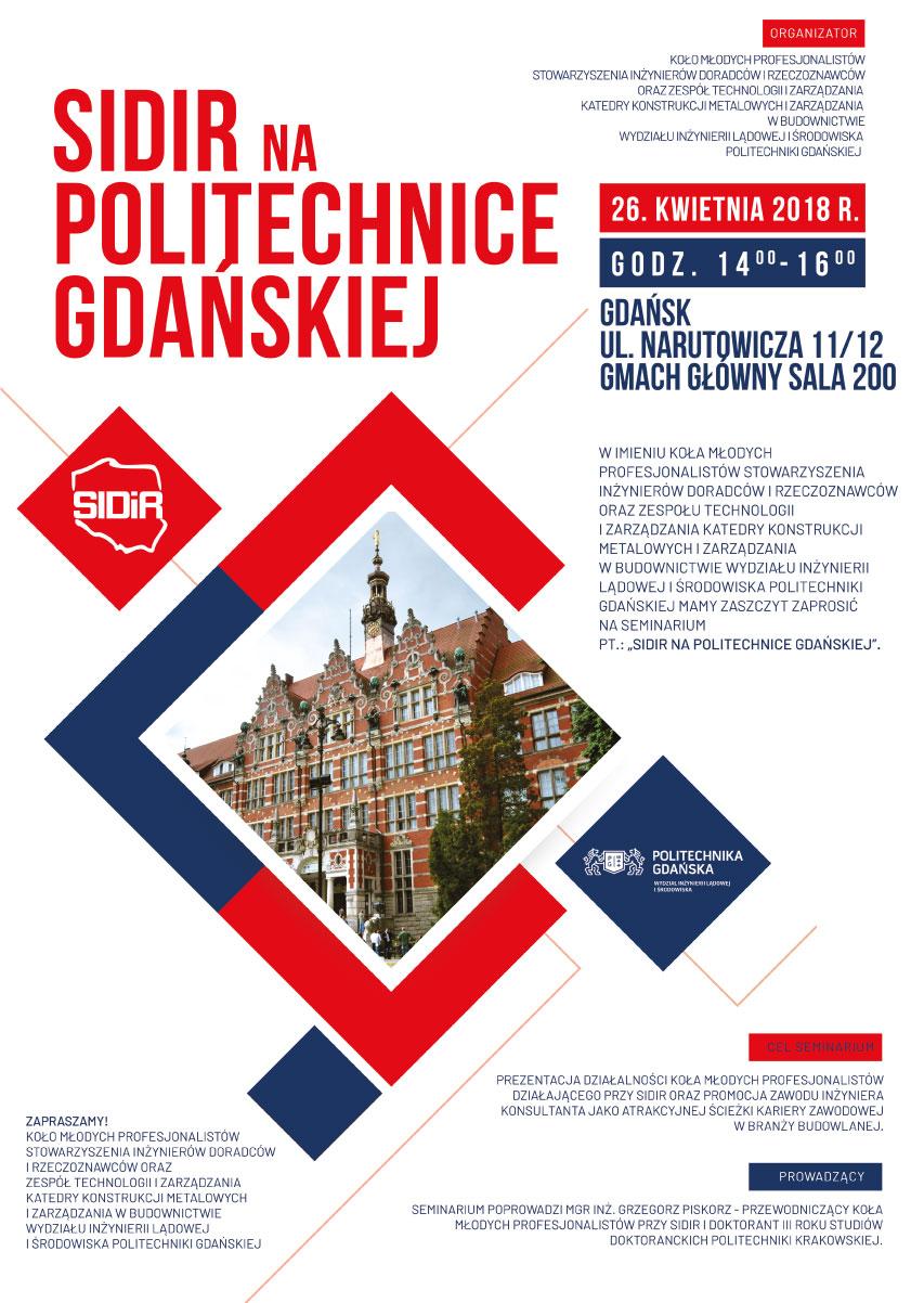 SIDiR na Politechnice Gdańskiej