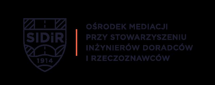 Logo Ośrodka Mediacji przy Stowarzyszeniu Inżynierów Doradców iRzeczoznawców
