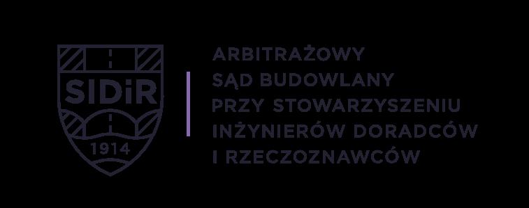 Logo Arbitrażowego Sądu Polubownego przy Stowarzyszeniu Inżynierów Doradców iRzeczoznawców